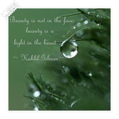 Beauty Is Light In The Heart Quote