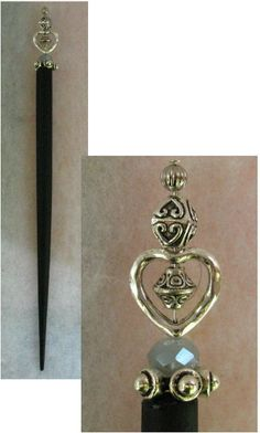 Silver Celtic Knot Heart Beaded Wooden Hair Stick New Shawl Pin Accessories http://cgi.ebay.com/ws/eBayISAPI.dll?ViewItem&item=151297593566