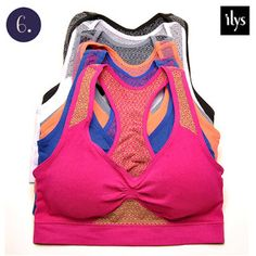 nomorerack.com $26 for 6 sports bras and only $2 shipping!