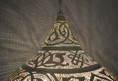 Moroccan Hanging Lamp | Moroccan Pendant Lights | Moroccan Light - E Kenoz