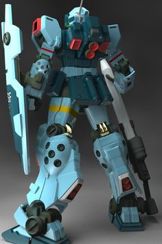 RGM-79SP GM Sniper II is a variant of the mass production RGM-79 GM. It first appeared in Mobile Suit Gundam 0080: War in the Pocket. Back