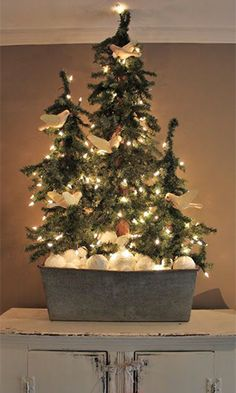 Trouvailles Pinterest: Noël Source: erin-artandgardens.blogspot.com