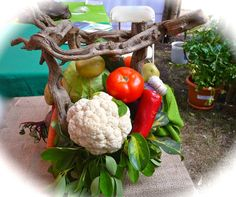 Vegetable Centerpieces for Tables