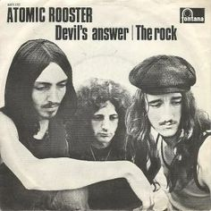 Devil's Answer/The Rock - Atomic Rooster Atomic Rooster, Rock Legends, The Rock, Album Covers, Devil, Albums, Music, Movies, Movie Posters