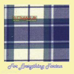 Longniddry Eildon Dress Blue Dalgliesh Dancing Tartan Wool Fabric 11oz Lightweight  by JMB7339 - $115.00