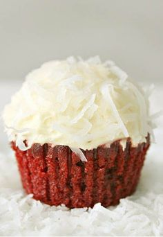 Coco Rouge Velour Cupcakes