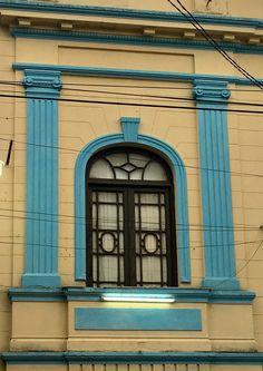 Una ventana antigua de Asunción-Paraguay