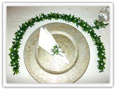 Dekoration - Ehrenplatzranke Ehrenplatz Kommunion Konfirmation  - ein Designerstück von Blumeneri bei DaWanda