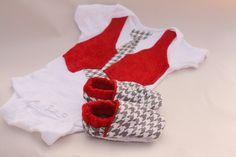 Baby boy valentine shirt and shoes valentine Gift by haddygrace, $34.99