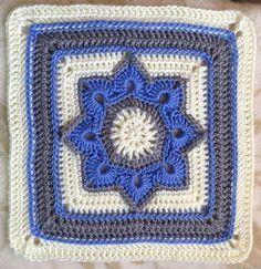 Letras e Artes da Lalá: Quadradinhos de crochê/squares (www.pinterest. com - sem receitas)