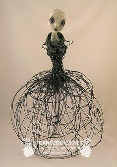 by artist/doll maker Beth Robinson. via the artist's site