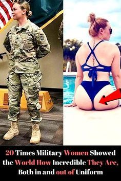 20 Times Military Women Showed the World How Incredible They Are, Both in and out of Uniform Embarrassing Moments, Funny Moments, Cool Yoga Poses, Military Women, Play Soccer, Celebs, Celebrities, Weird Facts, Super Funny