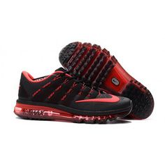 save off 117e2 ba354 Women Nike Air Max 2016 Shoes Black Red Cheap Nike Air Max, Cheap Nike  Running