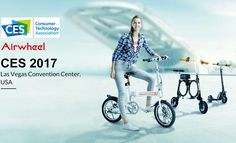 CES 2017 Show in Las Vegas on January 5-8th. Get Free Trail for the Latest Airwheel Smart ebikes