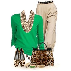 """""""Leopard...and Green!"""""""