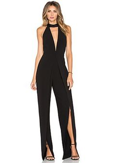 17b4ce4a5881 Penthouse Party Black Lace Jumpsuit in 2019