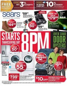 Oakland Mall :: Black Friday Deals! at Sears :: 11/28/2013 to 11/29/2013 #blackfriday