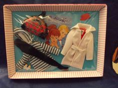 Winter Holiday # 975 Outfit 1959 Vintage Barbie REPRO NRFB in REPRO Pink Box