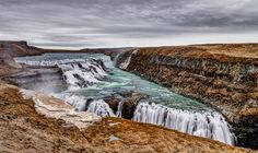 Gullfoss waterfall - 10 of the most beautiful places to visit in Iceland