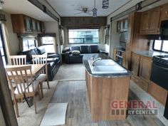 Choose The Destination Of Your Dreams. Reside Within The Great Outdoors In The New 2016 Keystone RV Residence 407RL Destination Trailer at General RV | Dover, FL | #137824