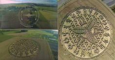 Εντυπωσιακός σχηματισμός αγρογλυφικών στο Ηνωμένο Βασίλειο [Βίντεο]