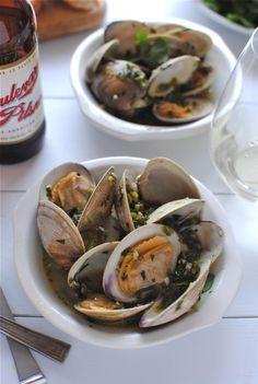 beer steamed clams