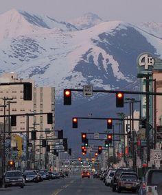 4th Avenue, Anchorage, Alaska.
