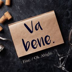Italian Phrase of the Week: Va bene!)You can find Frases inspiradoras and more on our website.Italian Phrase of the Week: Va bene!