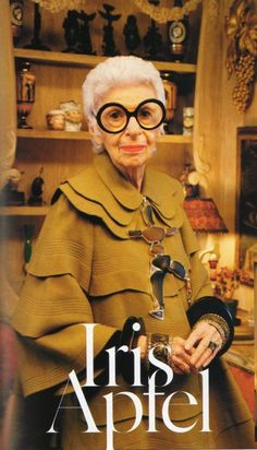 Iris Apfel's fashion