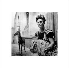 Nikolas Muray,Frida with Granizo,1939 If you... - Paddle8