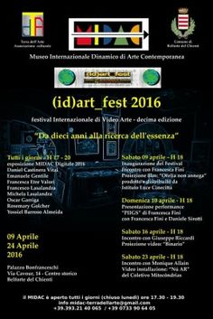 (id)art_fest 2016  Festival Internazionale di Video Arte a Belforte del Chienti