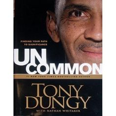 Tony Dungy Autographed 'Uncommon' Hard Cover Book . $39.99. Starting his coaching career in college Tony Dungy found his niche in the NFL. Beginning with the Tampa Bay Buccaneers Dungy later established a perennial powerhouse with the Indianapolis Colts. Dungy made history in 2007 when he became the first African American head football coach to win an NFL Super Bowl. Tony Dungy has hand signed his book 'Uncommon'. A Steiner Sports Certificate of Authenticity is included.