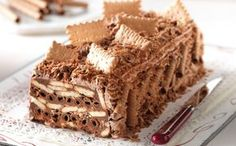 How to make perfect brownies Greek Sweets, Greek Desserts, Party Desserts, Candy Recipes, Sweet Recipes, Food Network Recipes, Cooking Recipes, Cooking Ideas, Sweet Corner