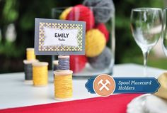 17 DIY Wedding Place Cards And Place Card Holders | HappyWedd.com