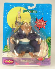 The Beast from Beauty and the Beast Bend Ems Disney Product by JusToys #JusToys