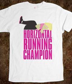 Horizontal Running Champion Shirt