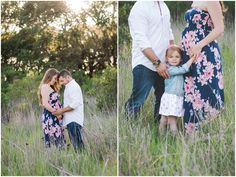Ethereal maternity session