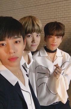 Daehyun, Zelo, and Youngjae