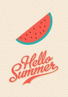 Vindt dit een erg mooie poster, Hij is simpel maar toch met een duidelijk boodschap, ook krijg je gelijk een zomers gevoel door deze poster en goed gekozen typografie.