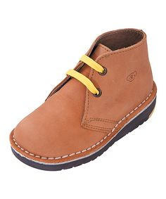 Rilo Shoes Honey Leather Chukka Boot by Rilo Shoes #zulily #zulilyfinds