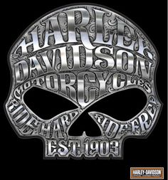 HARLEY-DAVIDSON-MOTORCYCLE-WILLIE-G-SKULL-CHROME-DECAL-MADE-IN-THE-USA