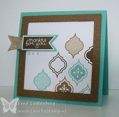 Love the look of this card, using new SU! images>