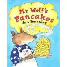 Children's book about pancakes. Prefect for Rainbow Pancakes