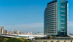 A landmark hotel in Durban, the Hilton Durban hotel offers deluxe accommodation and adjacent to the Durban International Convention Centre. All guest rooms offer gorgeous views of the city or KwaZulu-Natal coastline, luxury amenities and easy access to Durban's beaches and central business... #Hotels # # #backpackers #budgetfriendly #traveltips