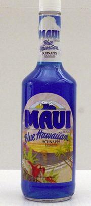 Maui Blue Hawaiian Schnapps | Hampton Roads Happy Hour