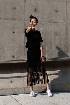 On the street… Seoul fashion week 2016 SS