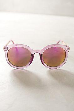 Slide View: 1: Maude Mirrored Sunglasses