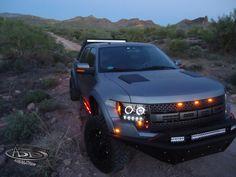 Custom Ford Raptor Front Bumper by ADD