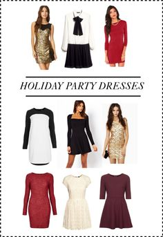 9 Holiday Party Dresses