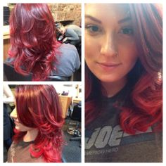 Our one and only beauty Kara!!! Color/style by Kara! Haircut by Ondrea!!! #color #goldwell #elumen #kms #kmscalifornia #beauty #salon #texture #red #redhair #ginger #loveher #lovewhatyoudo #newbrunswick #rutgers #ru #hair #haircut #blowout #style #shiny #healthy #littlemermaid www.facebook.com/sparkshairdesign www.sparkshairdesign.com